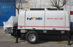How to choose the model of Concrete Trailer Pump